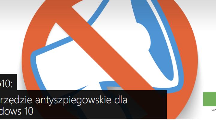 O&O ShutUp10 wyłączenie szpiegowania Windows 10