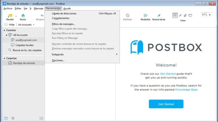 Postbox klient pocztowy Windows i Mac