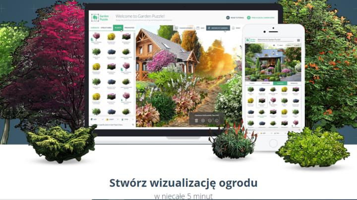 GardenPuzzle program do projektowania ogrodów online