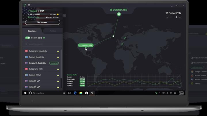 ProtonVPN darmowy VPN