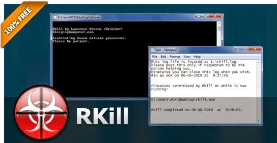 RKill usuwanie malware
