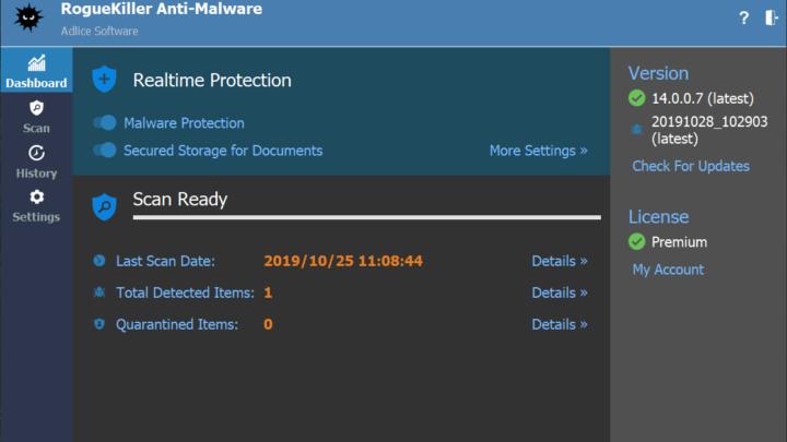 RogueKiller Anti-malware za darmo