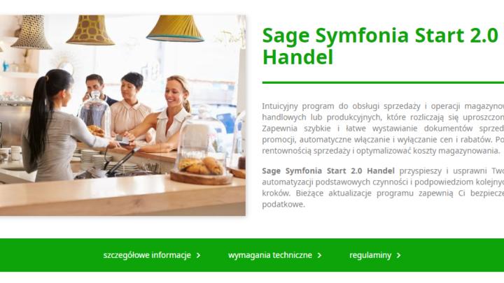 Sage Symfonia Start 2.0 Handel