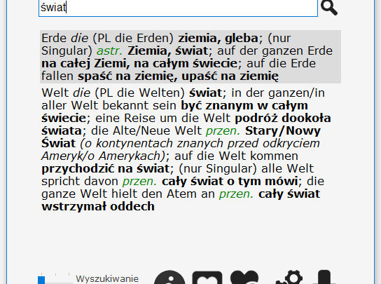 Słownik niemiecko-polski za darmo
