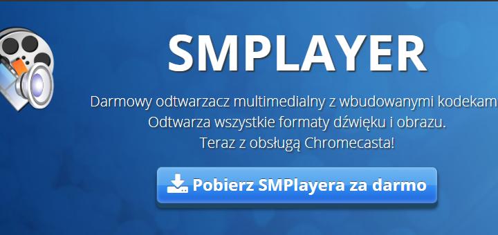 SMPlayer darmowy odtwarzacz filmów