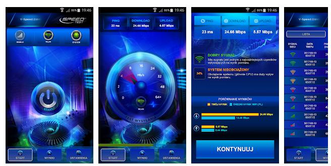 Speed Test Internet aplikacja na telefon
