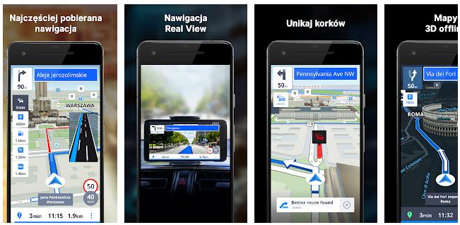 Sygic za darmo na Androida nawigacja na telefon