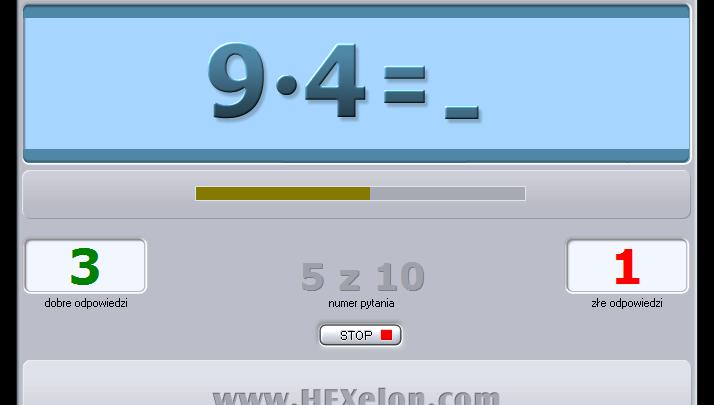 HEXelon Tabliczka mnożenia