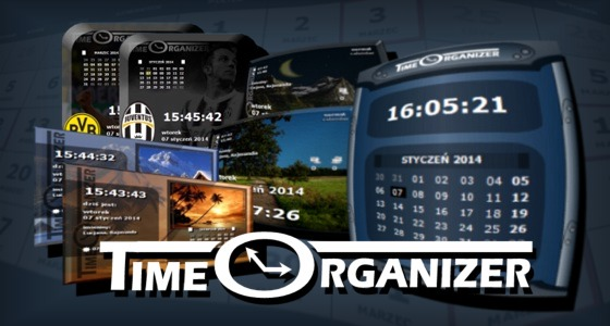 Time Organizer osobisty kalendarz na pulpit