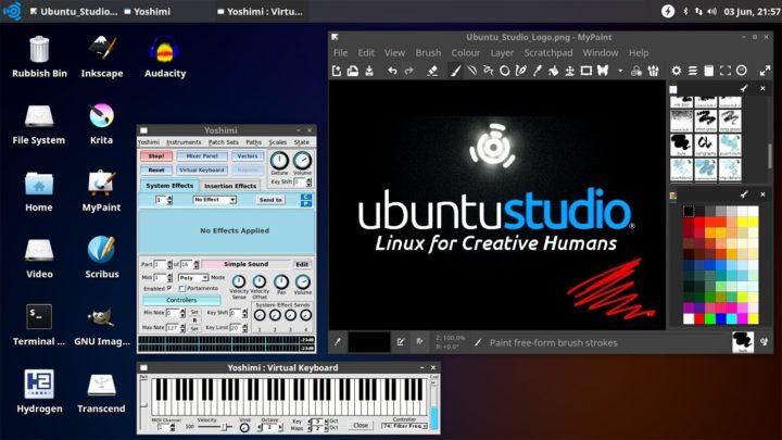 Ubuntu Studio bezpłatny system operacyjny