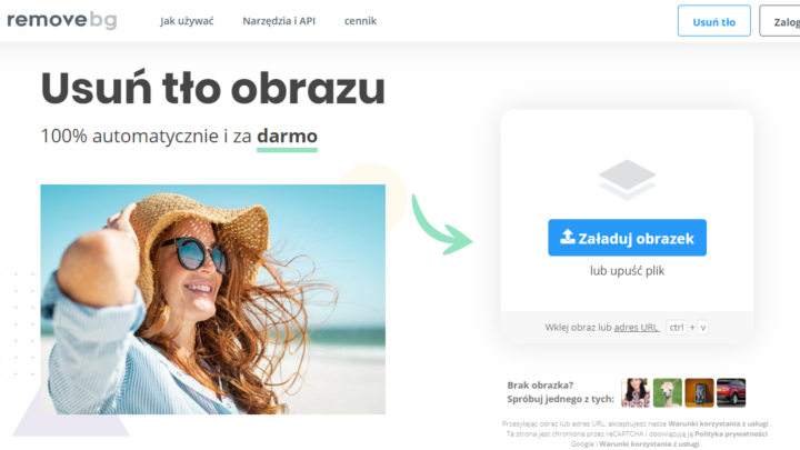 Remove.bg usuwanie tła ze zdjęć online za darmo