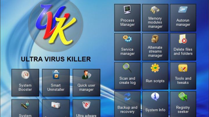 UVK Ultra Virus Killer program do usuwania wirusów