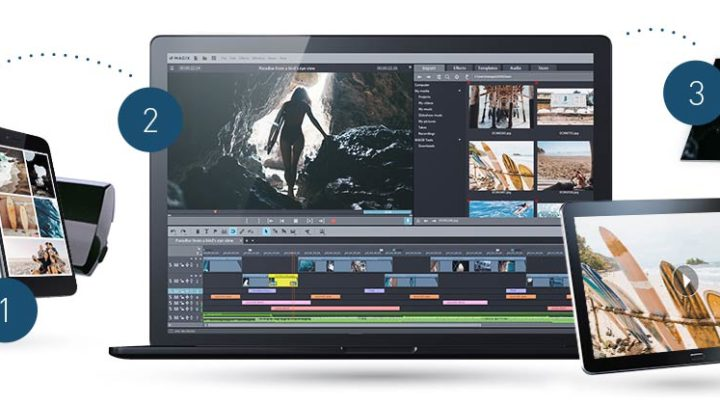 Magix Movie Edit Pro program do edycji video