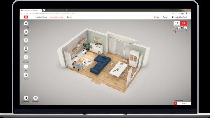 VoxBox program do wizualizacji wnętrz