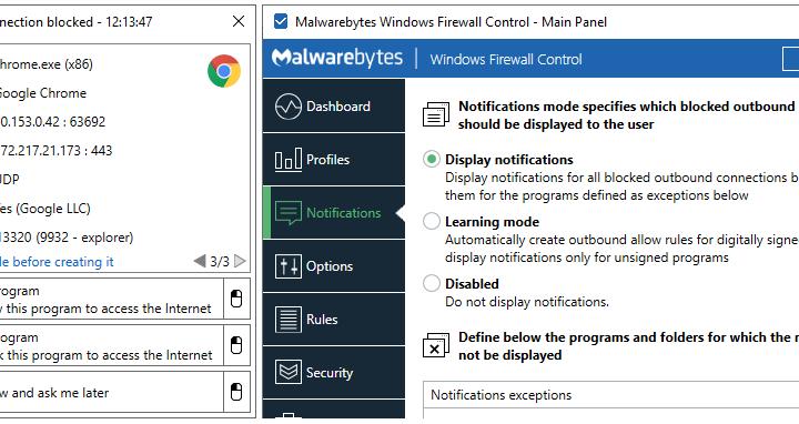 Windows Firewall Control za darmo