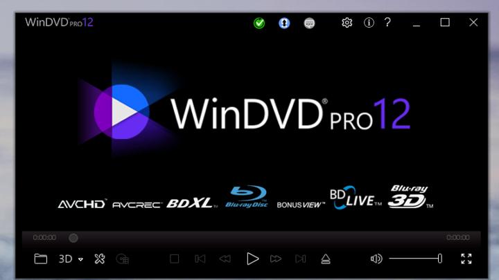 WinDVD Pro odtwarzacz Blu-ray i DVD