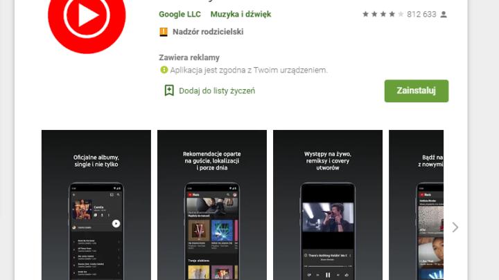 YouTube Music Premium za darmo