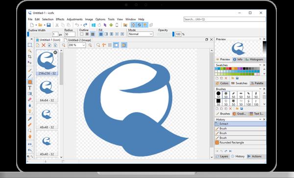 IcoFX program do tworzenia i edycji ikon