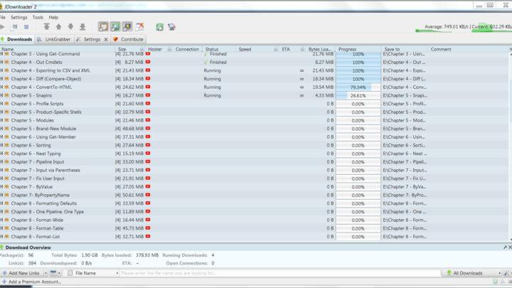 JDownloader 2 program do pobierania plików