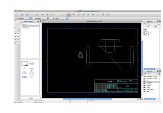 LibreCAD darmowy program CAD 2D
