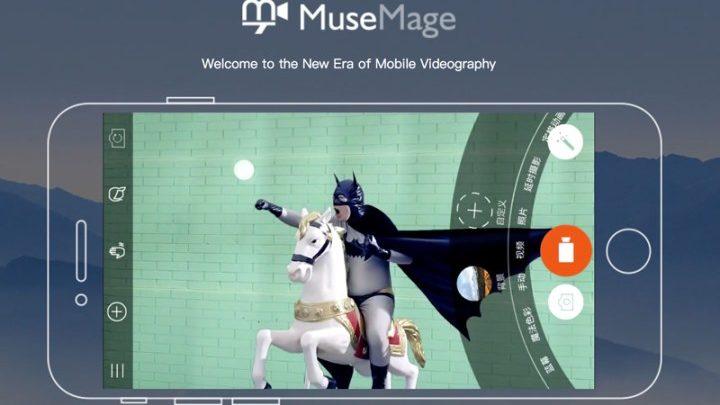 Musemage aplikaja do tworzenia zdjęć i filmów