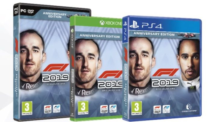 Gra F1 2019 za darmo na Xbox i PC
