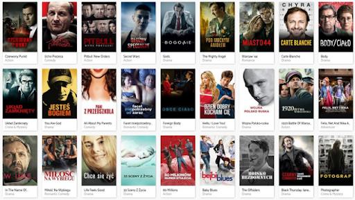 Lista stron z filmami za darmo