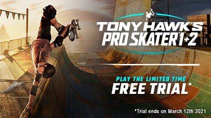 Tony Hawk's Pro Skater 1 + 2 za darmo