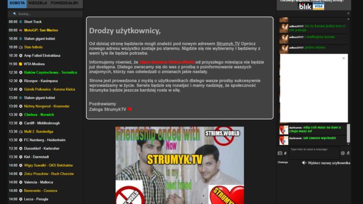 strumyk.tv mecze online stream transmisje sportowe za darmo